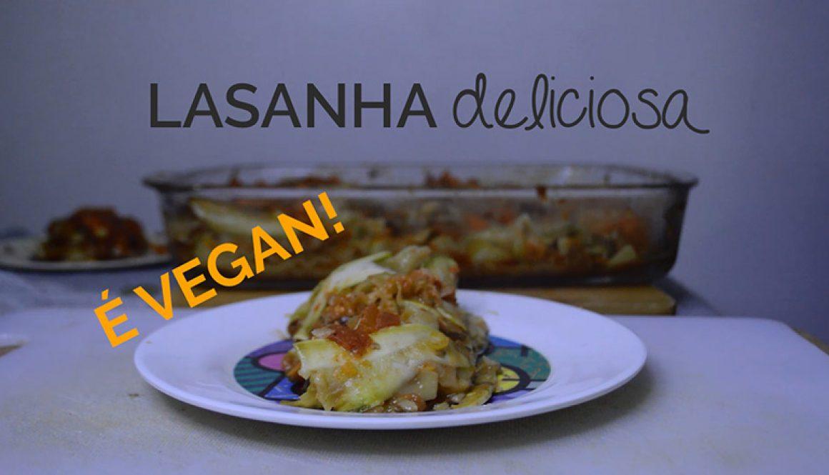 Lasanha Vegana de Berinjela e Abobrinha – [Vídeo]
