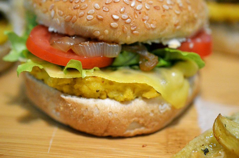 Hambúrguer de Milho Triplo